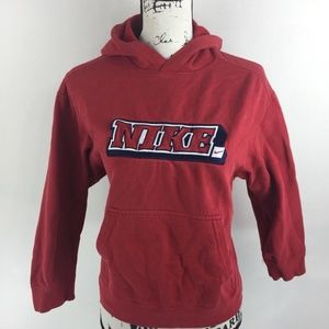 aef6a7cb4fc3 Nike Shirts - Nike Men s Red Pullover Graphic Sweatshirt Size M